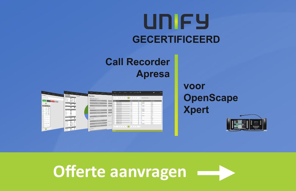 Call Recorder Apresa offerte aanvragen