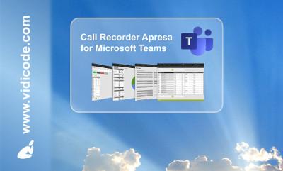 Call Recorder Apresa for Microsoft Teams